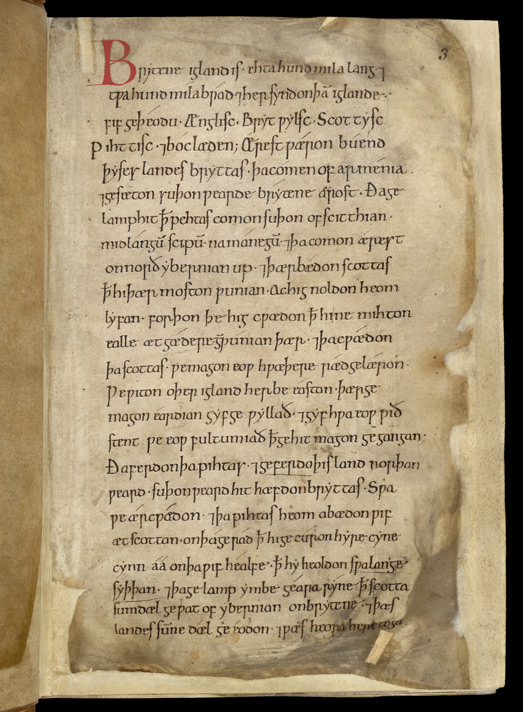 The Introduction To The Annals, In The Worcester Anglo-Saxon Chronicle